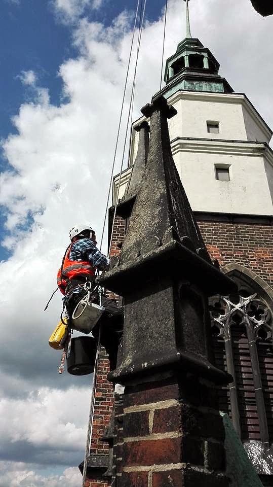 Реставрація фасадів на будинках. Одеса